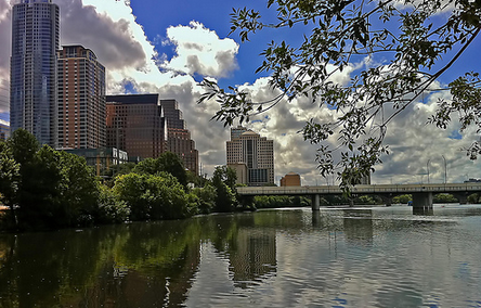 Lady Bird Lake in Austin TX
